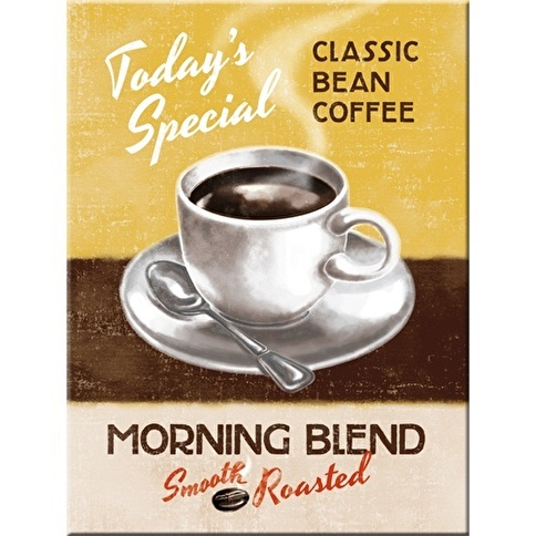 Nostalgic Art Morning Blend Magnet 6x8 cm Renkli